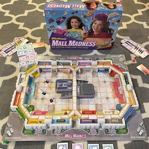 VTG Electronic Mall Madness Board Game Milton Bradley 99% Complete Works Talks