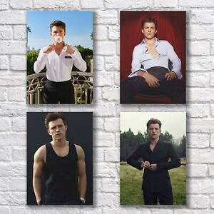 Tom Holland Poster A4 Set HQ Print Sexy Pretty Hot Man Guy Home Wall Decor