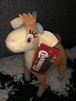 "9"" FERDINAND Movie Lupe the Goat Plush Stuffed Toy Factory Cena Stuffed Animal"