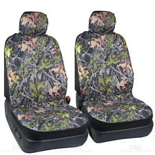 Camo Seat Covers for Car SUV TRUCK- 2 Fronts Low Back camouflage Covers