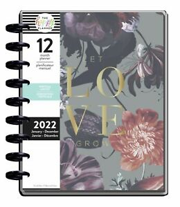 The Happy Planner Let Love Grow 2022 Classic Vertical Planner 12 Months