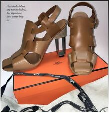 bb26aa1f83a7 Hermes Sandals, Booties, US 8.5 to 9, EU 39, Saddle Leather,
