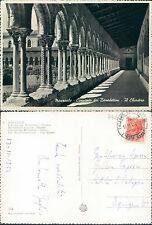 MONREALE (PA) - CONVENTO DEI BENEDETTINI - IL CHIOSTRO       (rif.fg.7906)