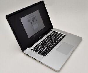 Apple MacBook Pro - A1286 - i7-2720QM 8GB & 1TB HDD - High Sierra - Discounted!