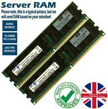 2GB Memory RAM 4 Server PC2-6400P DDR2 800MHz 240 ECC Registered R-DIMM CL6 Lot