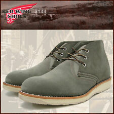 Red Wing Heritage 3144 Men's Work Chukka Boot (Sage Suede Leather)