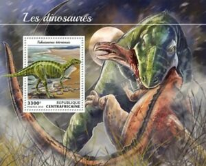 Central Africa - 2018 Dinosaurs on Stamps - Souvenir Sheet - CA18412b