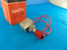 Vintage 1950's 1960's Signal Stat 12V Lighted Dash Switch NOS In Box NICE! #102