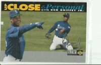 1994 COLLECTOR'S CHOICE UP CLOSE PERSONAL SILVER SIGNATURE #634 KEN GRIFFEY JR
