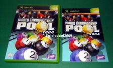 World Championship Pool 2004 fuer Microsoft Xbox mit Anleitung und OVP