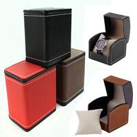 PU Leather Watch Display Box Case Holder Bracelet Bangle Jewelry Gifts Storage