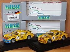 Due modello Porsche Carrera Cup 1991 TEAM PORSCHE strähle Autosport Asch Schmitt
