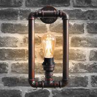Vintage Industrial Rustic Steampunk Wall Light Metal Waterpipe Wall Lamp M0068