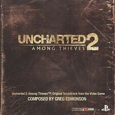 Uncharted 2: Among Thieves [Original Video Game Soundtrack] (CD, Feb-2010, Naughty Dog)