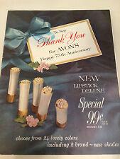 RARE!! Vintage 1961 AVON Brochure - Campaign 11 - MINT CONDITION!