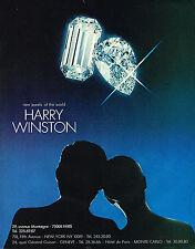 PUBLICITE   1977   HARRY WINSTON   joaillier