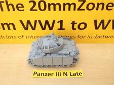 EWM Garm23 1/76 Diecast WWII German Panzer III N Late Short 75 + Shurtzen