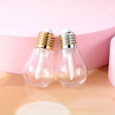 1/5Pcs 9ML Light Bulb Lip Gloss Tube DIY Containers Bottle Empty Cosmetic