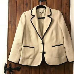Hobbs jacket cream sz10