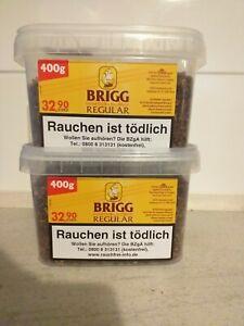 2 Eimer Brigg Regular 400 g Pfeifentabak auch z. Stopfen geeignet