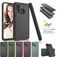 For Samsung Galaxy A10E A01 A11 A20 A51 A70 A71 5G Case Hard Silicone Cover