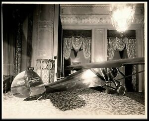 Play Entrance Vaudeville Theater ORIG 1920s MONOCOUPE AIRCRAFT  ORIG Photo 525