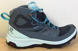 SALOMON OUTLINE MID GTX Waterproof Womens Walking BootsUK Size 6.5