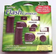 Fujifilm Quicksnap Flash 400 Single-Use Camera With Flash (2 Pack) Exp. 2018