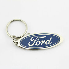Original Ford Pflaume Logo Muscle Car Schlüsselanhänger Anhänger Key Chain Chrom