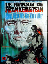 FRANKENSTEIN MUST BE DESTROYED 1969 Peter Cushing HAMMER Jean Mascii FRENCH