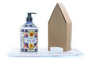 NEW Italian Deruta COCONUT HIBISCUS Hand Soap, 21.5 oz FREE SHIP Home & Body Co