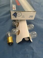 Wagner Dome Light # 1004 12V 15 CP Set of 5 Bulbs