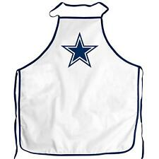 NFL Dallas Cowboys Chef Apron Brand New White and Blue with Star