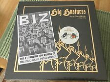 Big Business Solid Gold Metal 2004-2009 4 LP Box #478/500 Sealed!  Karp Melvins