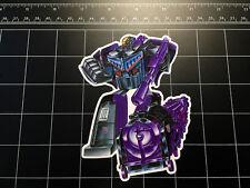 Transformers G1 Astrotrain box art vinyl decal sticker Decepticon toy 1980's 80s