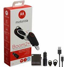 Motorola Boom 2+ Water Resistant Wireless Bluetooth Flip Headset New in Box