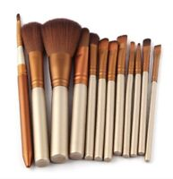Makeup Brushes Set of 12 Eye And Face Foundation Brush Kit Cosmetic Facial Care
