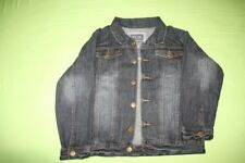 veste jeans  délavé garçon, taille 10 ans
