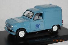 "Renault 4 Fourgonnette ""EDF/GDF 1965 blau 1:18 Norev neu & OVP 185197"