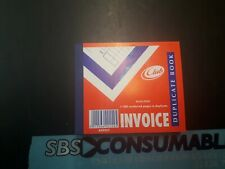 Club duplicate invoice book ruled feint 1-100 K49957