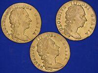 George III gaming tokens half guinea spade Good Old Days 1788 [22108]