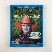 Alice In Wonderland (Blu-ray, 2010) s