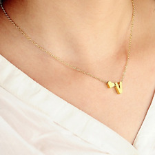 hot Fashion jewelry for women big 26 Letter Necklaces Pendants