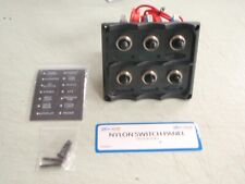 TOGGLE SWITCH PANEL LED LIGHTED 4246361 6 SWITCH WITH LED INDICATOR LIGHTS