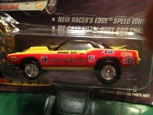 "1995 RONNIE SOX ""SOX & MARTIN"" 1/64 NHRA PLYMOUTH CUDA PRO STOCK VERY LAST ONE!!"
