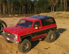 TRAXXAS TRX-4 Chevy Blazer RTR 1/10 4WD 2-Gang Sperrdiffs v/h Crawler FOC Combo