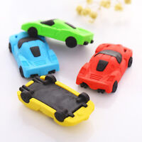 Eraser Stationery School Office Car Shape Mould Pencil Rubber Party Gift Chic