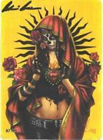 "Lady Death La Muerta ""Santa Maria""  Metallicard  Ltd. Ed. 99 with Ortiz Art"