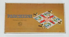 VINTAGE 1959 PARCHEESI BOARD GAME- Game of India - Gold Seal Edition - SelRight