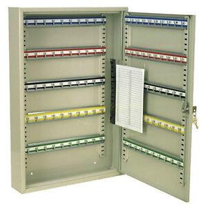 (SBS) Key Storage Hanger Holder Cabinet Cupboard 100 Keys + Wall Mounting Kit
